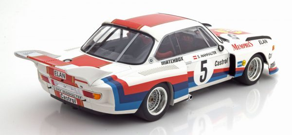 BMW 3.5 CSL Sieger Havirov International 1977 Manhalter 1-18 Minichamps Limited 414 Pieces