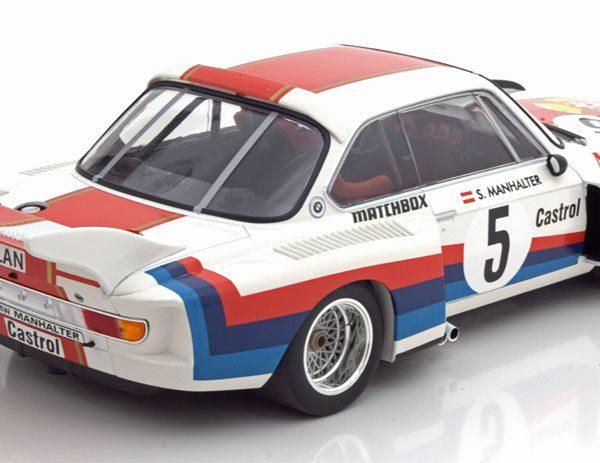 BMW 3.5 CSL Sieger Havirov International 1977 Manhalter 1-18 Minichamps Limited 414 Pieces