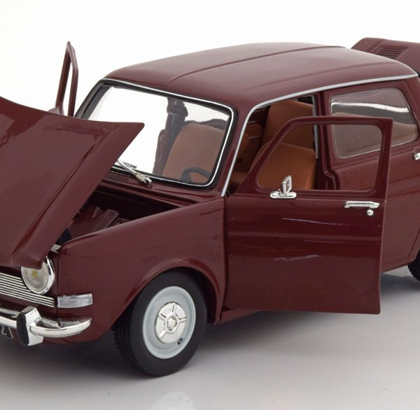 Simca 1100 LS 1974 Amarante Red 1:18 Norev