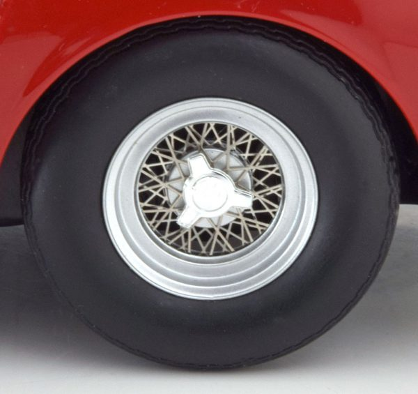 Ferrari 275 GTB/4 NART Spyder 1967 Rood 1-18 KK Scale Limited 1000 Pieces