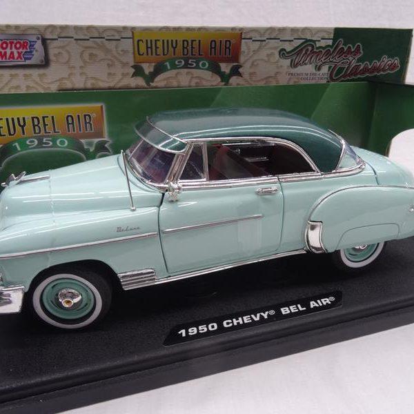 Chevrolet Bel Air 1950 2-Doors Groen 1-18 Motormax