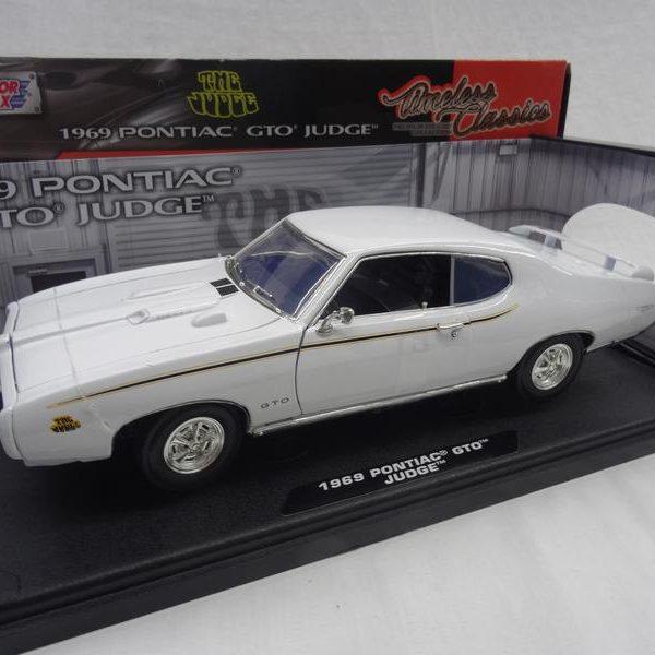 Pontiac GTO Judge 1969 Wit 1-18 Motormax