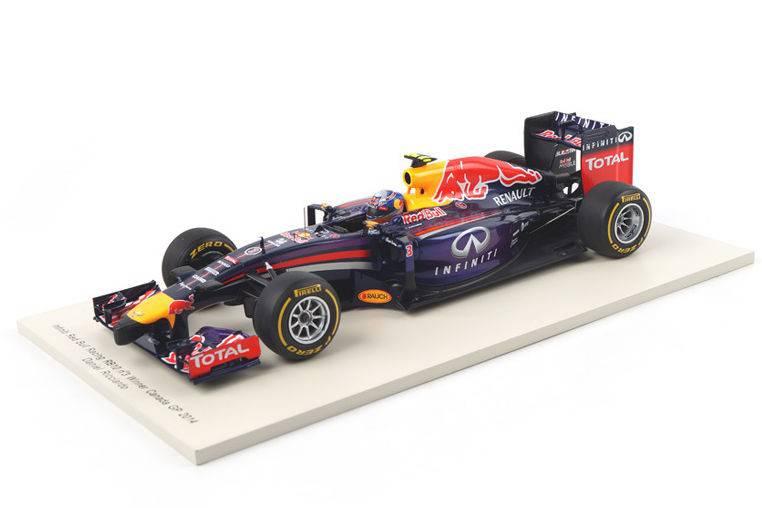Red Bull Racing RB10 Winner F1 GP Canada 2014 D. Ricciardo - Spark 1:18