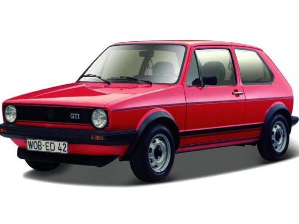 Volkswagen Golf I GTI 1979 Rood 1-24 Burago
