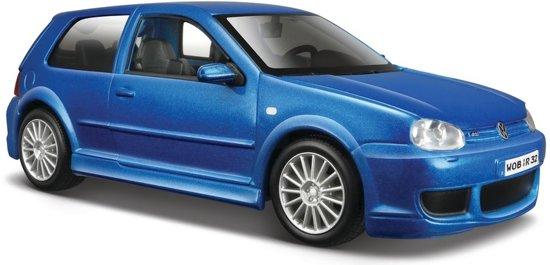 Volkswagen Golf IV R32 Blauw 1-24 Maisto