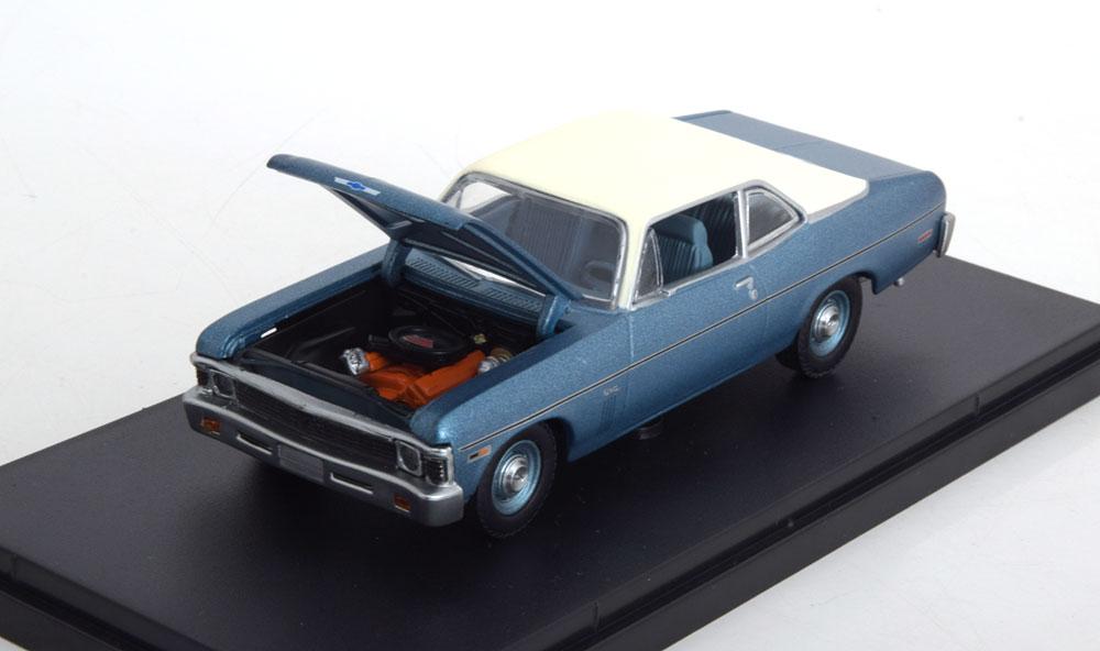 "Chevrolet Nova ""Beverly Hills Cop"" 1984 Blauw Metallic 1-43 GMP Limited 516 Pieces"