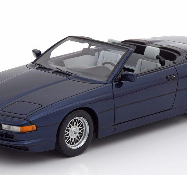BMW 850i Cabriolet Blauw 1-18 Schuco Pro R Limited 500 Pieces