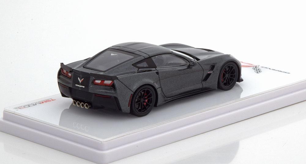 Chevrolet Corvette Grand Sport Coupe 1-43 Grijs Metallic True Scale MIniatures ( Resin )