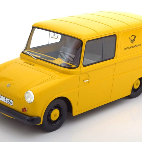 Volkswagen Fridolin Deutsche Bundespost 1964-1974 Geel 1-18 Schuco Pro R Limited Edition 500 pcs.