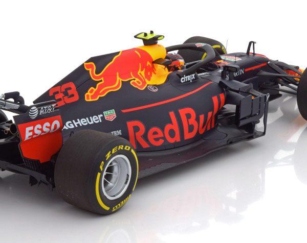 Aston Martin Red Bull Racing Tag Heuer RB14 Max Verstappen GP Australian 2018 Minichamps 1-18