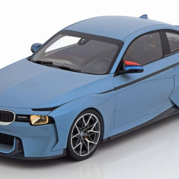 BMW 2002 Hommage Collection 2018 Helblauw Metallic 1-18 Norev Special