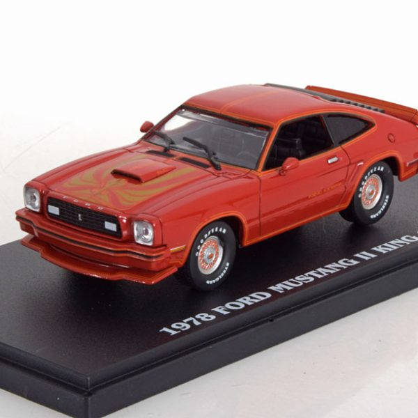 Ford Mustang II King Cobra 1978 Rood 1-43 Greenlight Collectibles