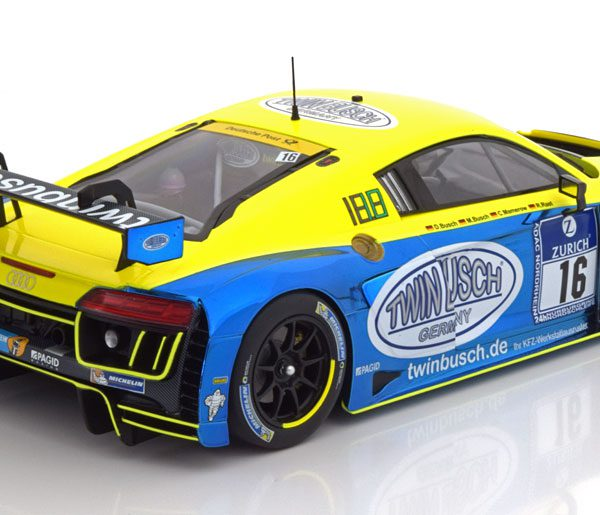 Audi R8 LMS No.16, 24h Nürburgring 2016 Rast/Busch/Busch/Mamerow 1-18 Minichamps Limited 300 Pieces