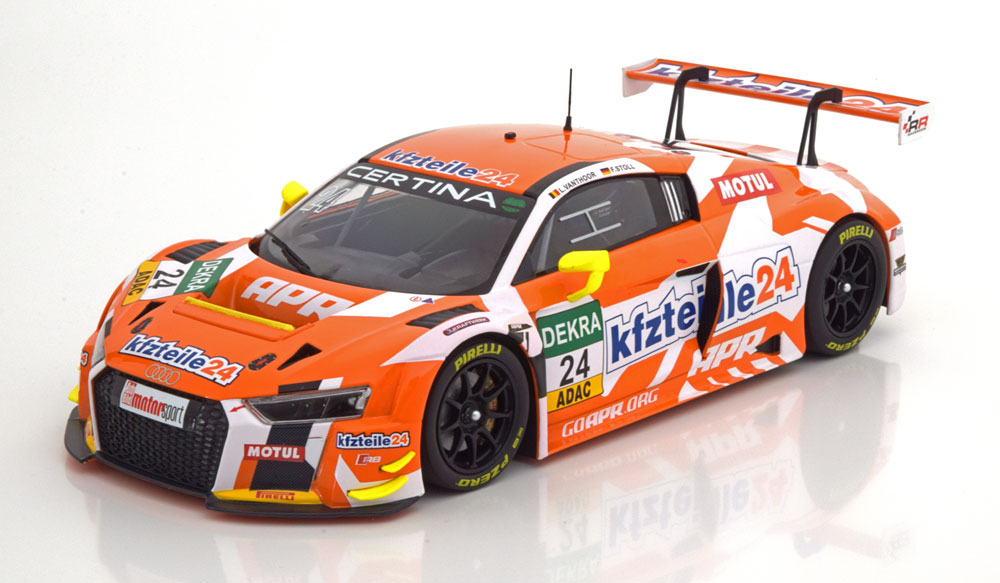 Audi R8 LMS No.24, ADAC GT Masters 2016 Vanthoor/Stoll 1-18 Minichamps Limited 300 Pieces