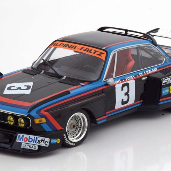 BMW 3.5 CSL No.3, 6h Silverstone 1976 De Fierlant/Grohs 1-18 Minichamps Limited 600 Pieces