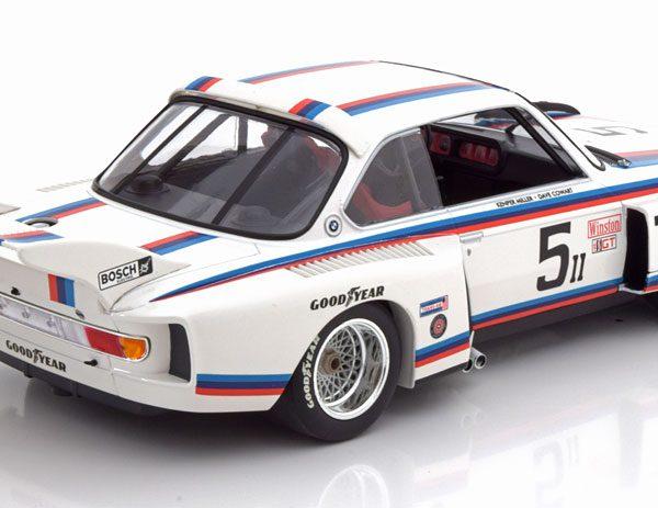 BMW 3.5 CSL No.5, 6h Watkins Glen 1979 Miller/Cowart 1-18 Minichamps Limited 438 Pieces