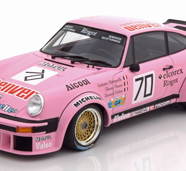 Porsche 934 No.70, Class Sieger 24hr Le Mans 1984 Perrier/Bertapelle/Salam 1-18 Minichamps Limited 336 Pieces