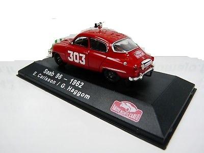 Saab 96 #303 E.Carlsson/G.Haggom Rally Monte Carlo 1962 Atlas 1-43