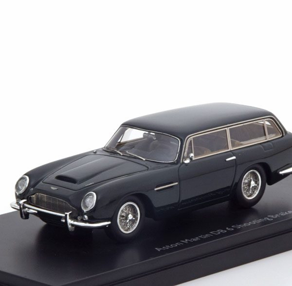 Aston Martin DB 6 Shooting Brake 1-43 Donkergroen Schuco Pro R Limited 500 Pieces