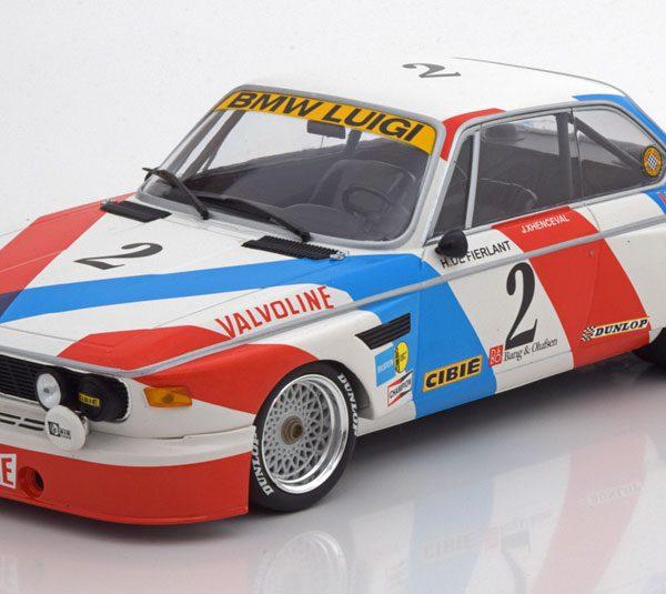 BMW 3,0 CSL Sieger 24h Spa 1975 De Fierlant/Xhenceval 1-18 Minichamps Limited 360 Pieces