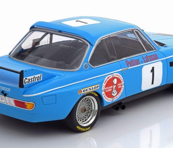 BMW 3,0 CSL Sieger 4h Monza 1974 Peltier/Lafosse 1-18 Minichamps Limited 300 Pieces