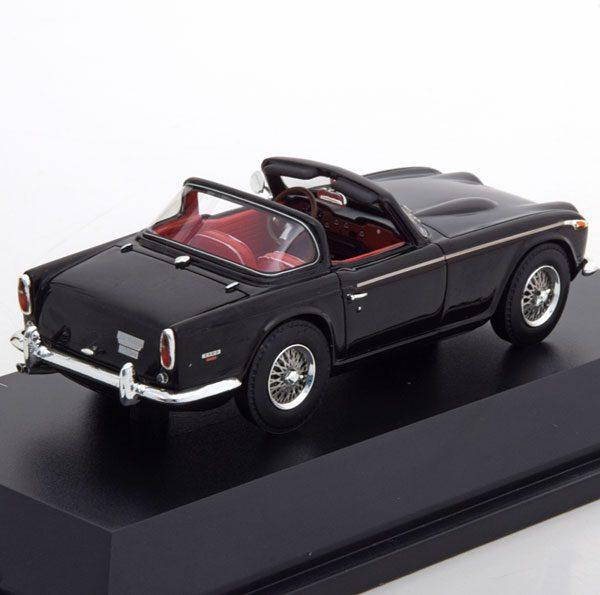 Triumph TR5 1967-1968 Zwart 1-43 Schuco Pro R Limited 500 Pieces