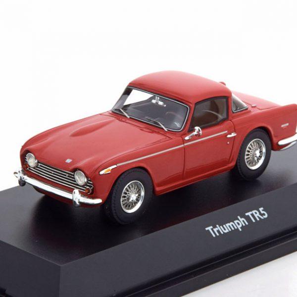 Triumph TR5 1967-1968 Rood 1-43 Schuco Pro R Limited 500 Pieces