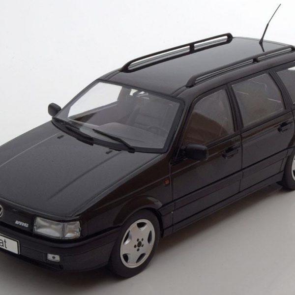 Volkswagen Passat B3 VR6 Variant 1988 Zwart Metallic 1-18 KK Scale Limited 1000 Pieces