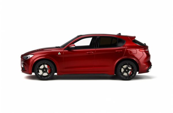 Alfa Romeo Stelvio Quadrifoglio 2017 Rood Metallic 1-18 Ottomobile Limited 1500 Pieces
