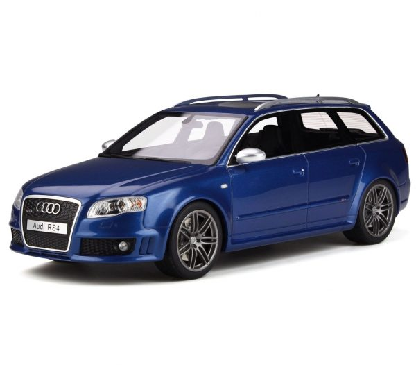 Audi RS4 B7 2005 Sepang Blauw 1-18 Ottomobile Limited 999 Pieces