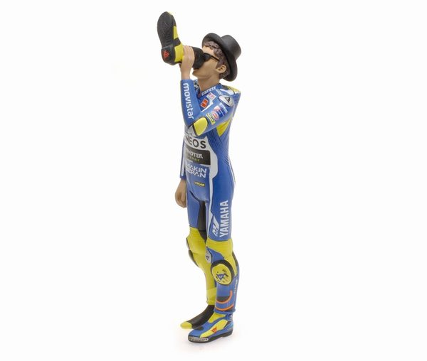 "Valentino Rossi Figuur Yamaha""Cheers to the Fans "" MotoGP Misano 2016 1-12 Minichamps Limited 999 Pieces"