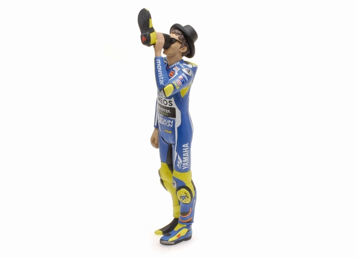 """Valentino Rossi Figuur Yamaha""""Cheers to the Fans """" MotoGP Misano 2016 1-12 Minichamps Limited 999 Pieces"""