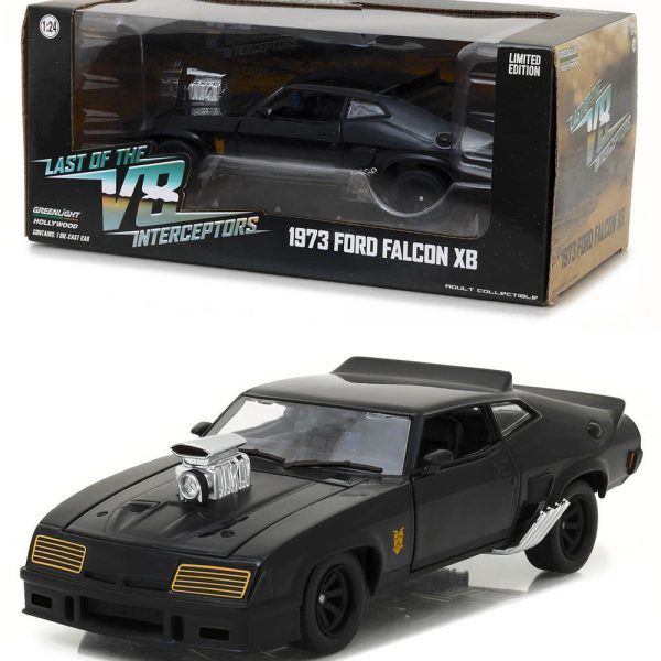 "Ford Falcon XB 1973 'Mad Max"" Zwart 1-43 Greenlight Collectibles"