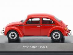 Volkswagen Kever 1600-S Super Bug Rood 1:43 Schuco Pro R Limited 500 Pieces