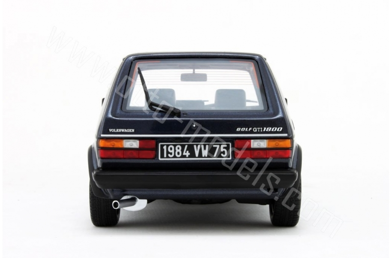 volkswagen golf 1 gti 1800 plus blauw 1 18 ottomobile limited 3000 pieces schuiten autominiaturen. Black Bedroom Furniture Sets. Home Design Ideas