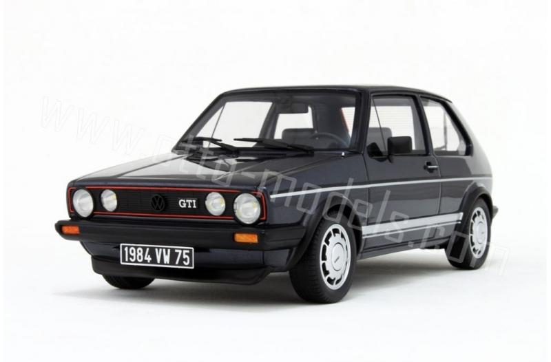 Volkswagen Golf 1 GTI 1800 Plus Blauw 1-18 Ottomobile Limited 3000 Pieces