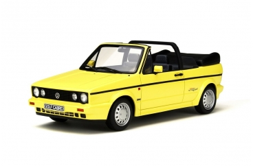 Volkswagen Golf 1 Cabriolet Young Line 1991 Geel 1:18 Limited 2000 pcs. Otto mobile