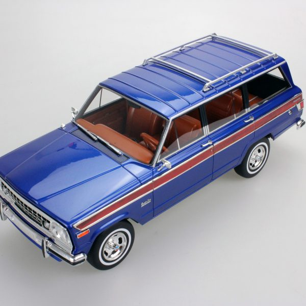 Jeep Grand Wagoneer Blauw 1-18 LS Collectibles Limited 250 Pieces