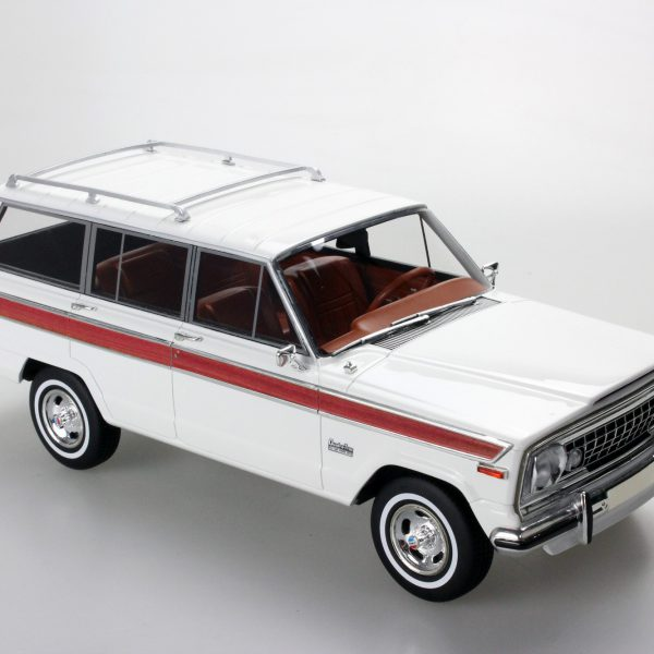 Jeep Grand Wagoneer Wit 1-18 LS Collectibles Limited 250 Pieces