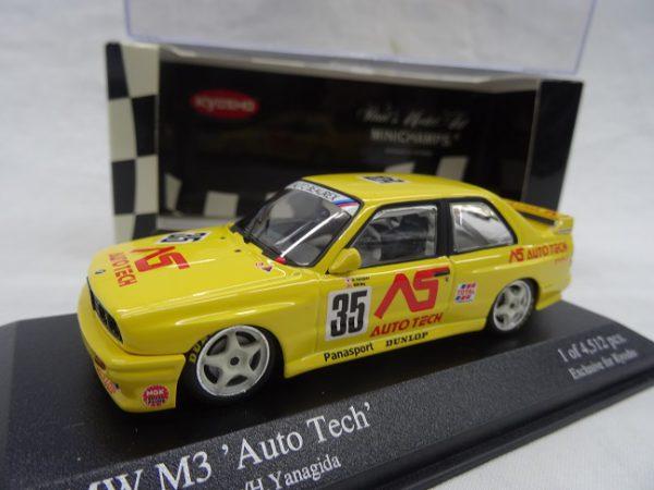 BMW M3 'Auto Tech' JTCC 1988 1:43 Kyosho / Minichamps
