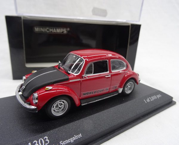 Volkswagen 1303 World Cup 1974 Rood 1:43 Minichamps