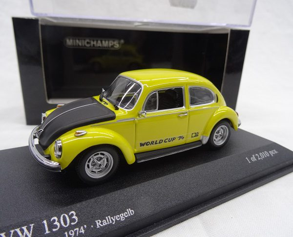 Volkswagen 1303 World Cup 1974 Geel 1:43 Minichamps