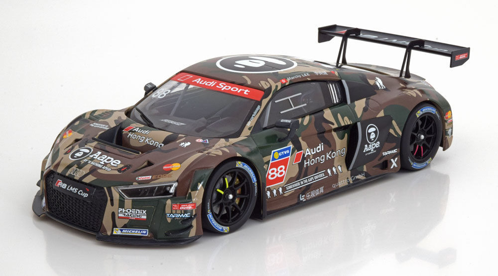 "Audi R8 LMS #88, LMS Cup Taiwan Lee 2016 "" Marchy Lee ""1-18 Minichamps Limited 300 Pieces"