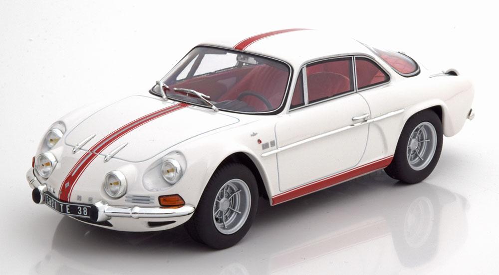 Renault Alpine A110 1600S 1971 Wit 1-18 Norev