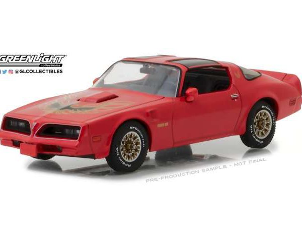 Pontiac Firebird Trans Am -1977 Rood 1-43 Greenlight Collectibles