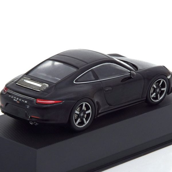 Porsche 911 Carrera ( Type 991 ) 50th Anniversary 2013 Zwart Metallic 1-43 Atlas Porsche Collection
