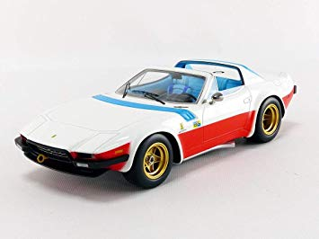 Ferrari 365 GTB/4 Michelotti 1975 Press Nart Le Mans Open Rooftop 1:18 Tecnomodel Limited 100 pcs.