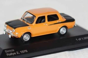 Simca 1000 Rallye 2 Oranje 1-43 Whitebox Limited 1000 Pieces
