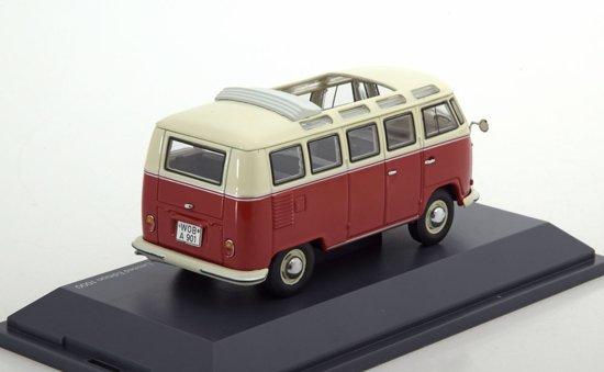 Volkswagen T1 Samba Bus Rood/Beige 1:43 Schuco Limited 750 pcs.