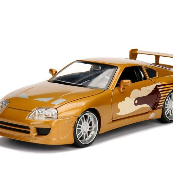 "Toyota Supra ""Slap Jack's"" Fast and The Furious Goud 1-24 Jada Toys"